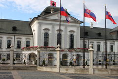 Presidential Palace of Slovakia, Bratislava Royalty Free Stock Images