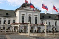 Presidential Palace of Slovakia, Bratislava royalty free stock images