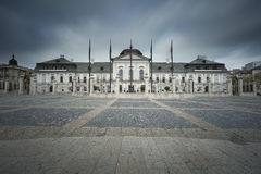 Presidential palace in Slovakia. Royalty Free Stock Photo