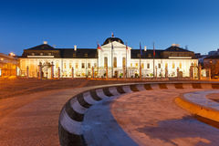 Presidential palace in Slovakia. Royalty Free Stock Image