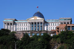 Presidential Palace in Tbilisi Stock Photos