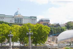 Presidential Palace in the Tbilisi royalty free stock photos