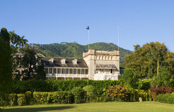 Presidential palace Trinidad & Tobago Stock Photography