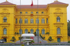 The Presidential Palace of Vietnam Stock Image