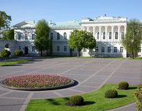 The Presidential Palace in Vilnius. The official residence of the President of Lithuania royalty free stock photography