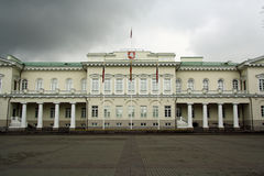 Presidential Palace in Vilnius (Lithuania) Stock Photo
