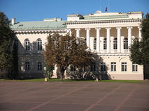 Presidential Palace (Vilnius, Lithuania) Stock Images