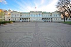 Presidential palace, Vilnius Stock Image
