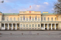 Presidential palace, Vilnius Stock Photo
