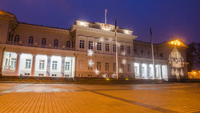Presidential Palace in Vilnius, Lithuania Royalty Free Stock Photos
