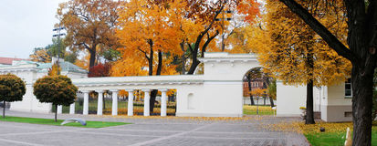The Presidential Palace in Vilnius, the official residence of the President. Of Lithuania Stock Photography