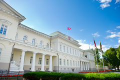 The Presidential Palace in Vilnius Stock Photography