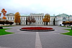 The Presidential Palace in Vilnius, the official residence of the President. Of Lithuania stock images