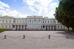 Presidential Palace in Vilnius Royalty Free Stock Photo