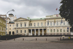The Presidential Palace in Vilnius, the official residence of th. E President of Lithuania stock photo