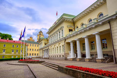The Presidential Palace, Vilnius Old Town, Lithuania Royalty Free Stock Images