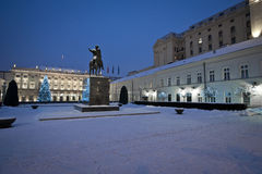 Presidential Palace in Warsaw, Poland Stock Photos