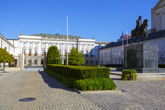 Presidential Palace in Warsaw Royalty Free Stock Photo