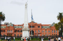 Presidential Pink House Casa Rosada - Buenos Aires - Argentina Royalty Free Stock Photography