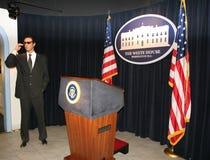The Presidential Podium Stock Image
