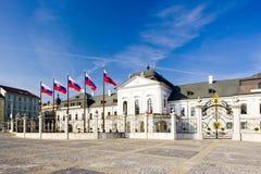 Presidential residence in Bratislava Stock Images