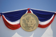 Presidential seal Royalty Free Stock Images