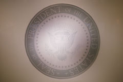 Presidential Seal at the Ronald W. Reagan Presidential Library Royalty Free Stock Images