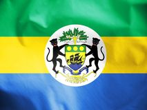 Presidential Standard of Gabon. Royalty Free Stock Image