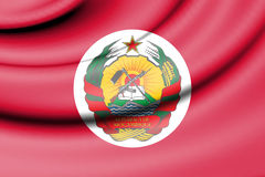 Presidential Standard of Mozambique. Royalty Free Stock Photo