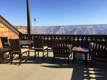 Presidential Suite View of the Grand Canyon Royalty Free Stock Photography