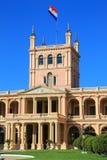 Presidentieel paleis in Asuncion, Paraguay royalty-vrije stock afbeeldingen