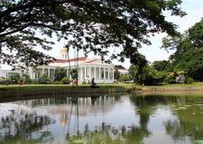 Presidentieel Paleis in Bogor, Indonesië stock afbeeldingen
