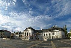 Presidentieel paleis Bratislava Royalty-vrije Stock Foto's