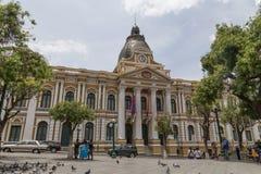 Presidentieel Paleis in La Paz, Bolivië royalty-vrije stock foto's