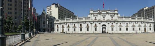 Presidentieel Paleis, Santiago, Chili Stock Afbeelding