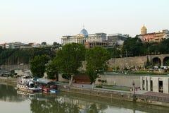 Presidentieel Paleis in Tbilisi, Georgië. Stock Afbeelding