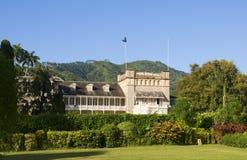 Presidentieel paleis Trinidad & Tobago stock fotografie