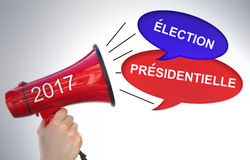 Presidentiel election 2017 Stock Photos