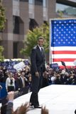 Presidentkandidat Barack Obama Fotografering för Bildbyråer