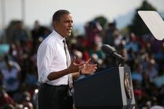 Presidentkandidat Barack Obama Royaltyfri Bild