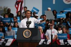 Presidentkandidat Barack Obama Arkivbild