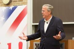 Presidentkandidat Jeb Bush Royaltyfri Bild