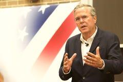 Presidentkandidat Jeb Bush Royaltyfria Bilder