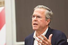 Presidentkandidat Jeb Bush Fotografering för Bildbyråer