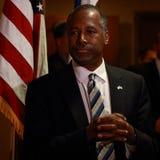 PresidentkandidatDr Ben Carson Fotografering för Bildbyråer