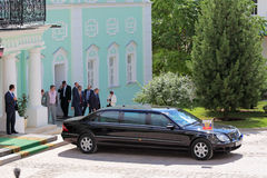 Presidentlimousineet Royaltyfria Foton