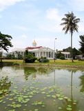 Presidentpalats i Bogor, Indonesien royaltyfria foton