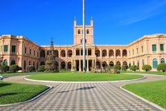 Presidentpalatset i Asuncion, Paraguay Arkivbild