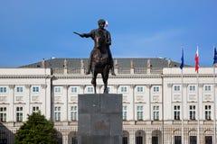 Presidentpalatset i Warszawa, Polen Royaltyfri Fotografi