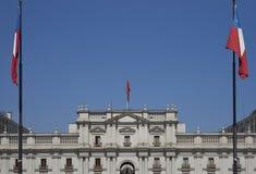 Presidentpalatset Santiago, Chile Royaltyfri Fotografi